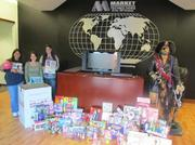 Market Technologies' Toys for Tots drive