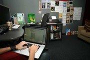 Mindclay Creative's Alexander Rodriguez, director of Visual & Interactive at work.