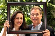 Elaine Stromgren and Al Scudieri, daughter and father