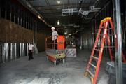 Construction at the old Borders Bookstore on Dale Mabry soon to be Florida Orthopaedic Institute.