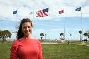 Mary Allison Yourchisin at MacDill Air Force Base.