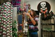 Buccaneer Beads' co-owner and president, Jennifer Hauanio in her store.