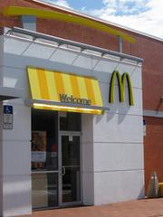 The exterior of a remodeled McDonald's located at 601 W. Martin Luther King Blvd., Seffner.