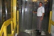 American Food Distributors Owner Bill Loiacano inside his warehouse.