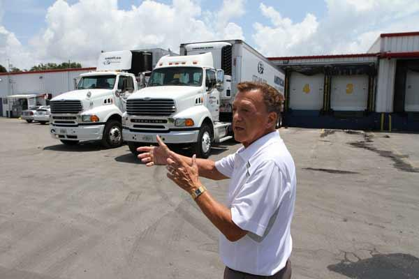 American Food Distributors Owner Bill Loiacano shows off his business. He needs room to grow.