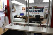 Inside the office at American Food Distributors in Port Richey.