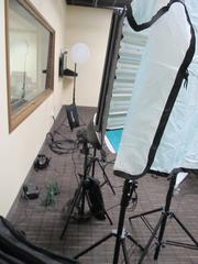 A production studio in development.
