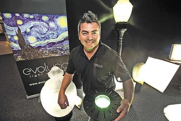 Evolucia Lighting in Sarasota's Mel Interiano is making some significant changes in his first year as CEO.