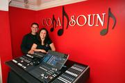 Coda Sound's Alex Cora, co-owner, producer/master engineer, and Maritza Astorquiza, co-owner and managing partner.