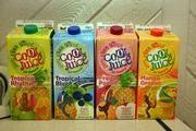 Cartons of CoolJuice.