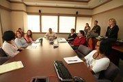 Kobie Marketing's team work order meeting in Kobie's St. Pete office.