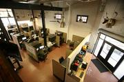 Offsite Technology Solutions office is in a renovated historic building.