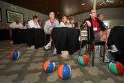 Franchisees listen to a presentation during the 2012 Our Town convention on St. Pete Beach.