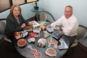 Karen O'Brien, co-owner and president, and Jim O'Brien, co-owner and vice president of sales and marketing, for ThinkShapes Mail.