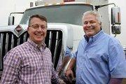 Big Truck Rental's CEO, Scott Dols and president, Robert Mecchi.