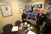 Jeff Sardisco, chief operating officer of USA Mobile Drug Testing, and Bob Klein, executive vice president.