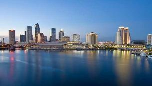 Developers want to add a hotel, left, and office tower to the Tampa skyline.
