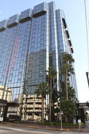 The soon to be Hilton Hotel Downtown Tampa formerly the Hyatt