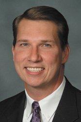 William Ulbricht, president of St. Anthony's Hospital