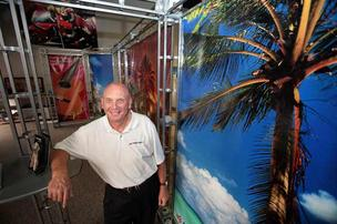 Vietnam veteran Ron McCaslin owns Speedpro Imaging, a print shop in Oldsmar.