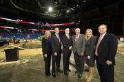 Holland & Knight, legal counsel for the RNC Tampa Bay Host Committee, law firm members in the Times Forum where the RNC will be held and preps are being made. Katherine O'Donniley, Bradford Kimbro, executive partner-Tampa Bay, Robert Grammig, Govenor Bob Martinez, Andrea Becker and Rob Warram, executive partner-Tampa Bay.