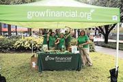 Grow Financial Credit Union employees can take as many as eight hours per quarter to do community service.