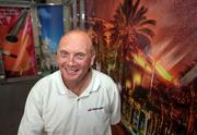 Ron McCaslin, co-owner of Speedpro Imaging in Oldsmar, in the graphics department and showroom.