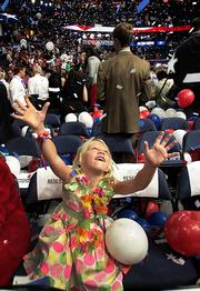 A scene from the Republican National Convention in Tampa in August.