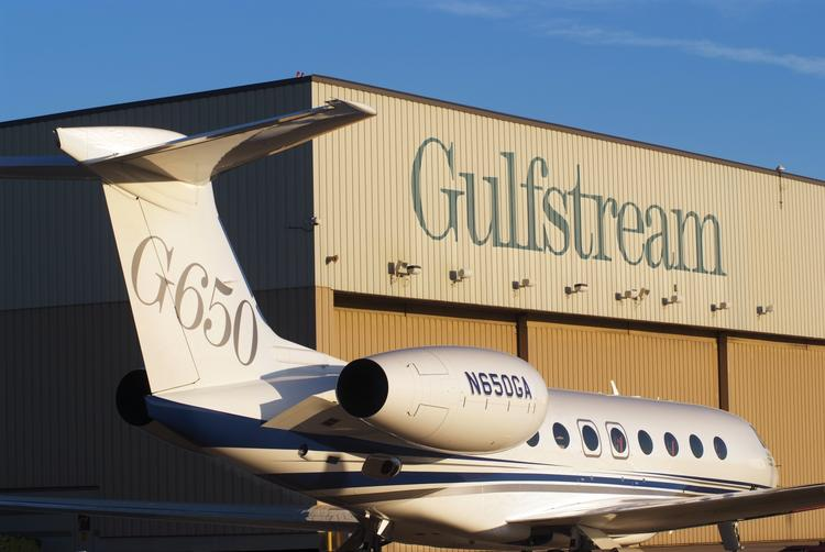 Gulfstream Aerospace was fishing in the Triad's local talent pool last week at a job fair the company held at the Proximity Hotel in Greensboro.