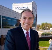No. 4 - Goodwill Industries of Northwest N.C. in Winston-Salem. The organization had revenues of $50.1 million and expenses of $47.4 million. The top local official is Art Gibel, pictured above.
