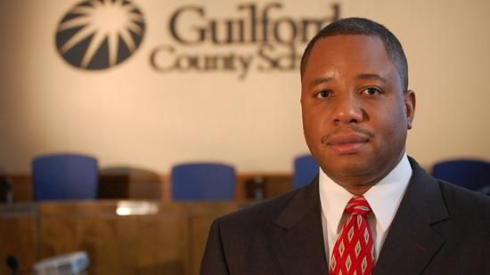 """The contract of Guilford County Schools superintendent Maurice """"Mo"""" Green has been extended through 2016."""