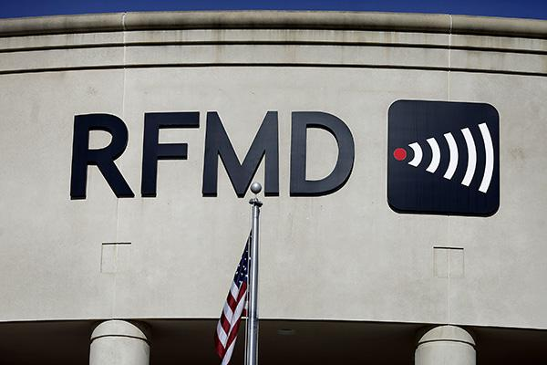 While its revenues increased 49 percent in the fourth quarter, RF Micro lost $16 million during the period, about $3 million more than a year ago.