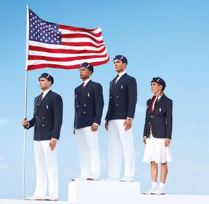 The opening ceremony uniforms for Team USA were designed by Ralph Lauren.