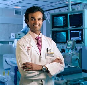 Dr. Vinay Thohan, the cardiologist at the helm of Wake Forest Baptist Medical Center's heart transplant program