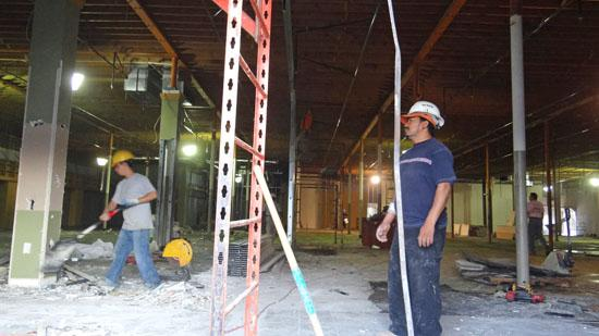 The construction industry is wary about what will happen if the U.S. goes off the fiscal cliff.