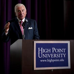 Nido Qubein is is being presented with the DAR Americanism Medal by the National  Society of the Daughters of the American Revolution.