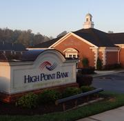 No. 5: High Point Bank and Trust ranks fifth on our list with $621.54 million in deposits in the Triad.
