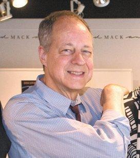 John Davis, co-owner of Mack and Mack in downtown Greensboro.