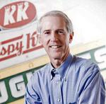 Krispy Kreme extends CEO <strong>Jim</strong> <strong>Morgan</strong>'s contract