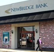 No. 1: NewBridge Bank ranks first on our list with $1.31 billion in deposits in the Triad.