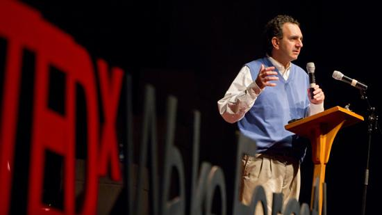Dr. Anthony Atala speaks at the TEDx at Wake Forest University earlier this year.