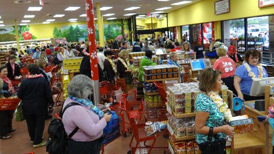 Click through this slideshow to see photos from Friday's opening of the Trader Joe's store in Winston-Salem.