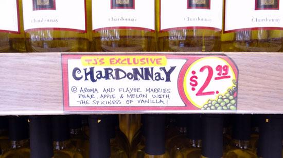 """Trader Joe's is raising the California price on its house brand wine, """"two buck chuck."""" At $2.49 it's still cheap wine. East Coast stores are maintaining their higher price of $2.99 a bottle."""