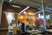 Emblazoned on the walls of the new Whole Foods store in Greensboro are the company's core values including the promotion of health.