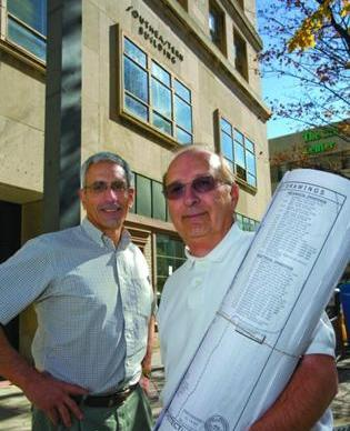 Barry Siegal and Willard Tucker plan to renovate the historic Southeastern building.