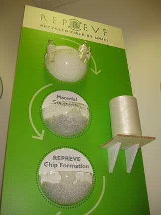 Unifi's growing recycled brand, Repreve, is set to expand through a new relationship with Palmetto Synthetics LLC.
