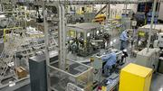 A Secret antiperspirant production line at the Proctor & Gamble in Browns Summit. The plant is one of the company's largest in terms of employment.