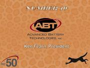 Greensboro-based Advanced Battery Technologies designs, supplies, installs and manages industrial battery and charging systems.