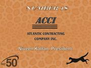 Atlantic Contracting Company Inc. builds public and private roads as well as commercial and residential projects. The Greensboro company had $6.5 million in 2011 revenues.