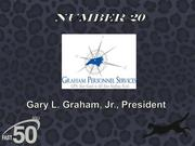 Graham Personnel Services is a staffing and recruiting firm that provides temporary, contract and direct-hire workers. The Greensboro company had $9.4 million in revenues last year.